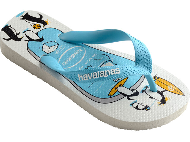 havaianas Top Play - Sandales Enfant - jaune/bleu